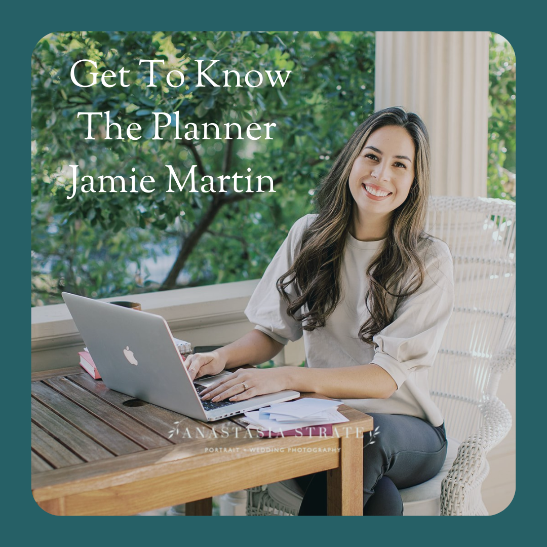 Get To Know The Planner Jamie Martin