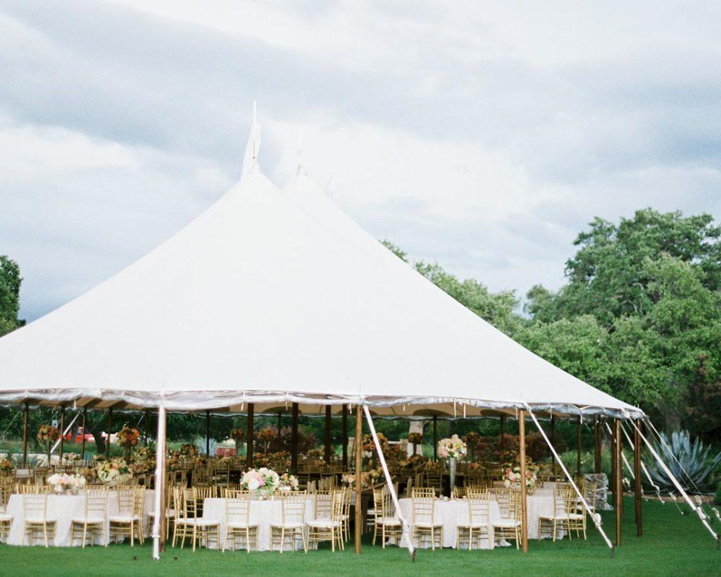 Austin Event Rental Company Wedding